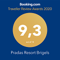 Booking Award für Pradas Resort