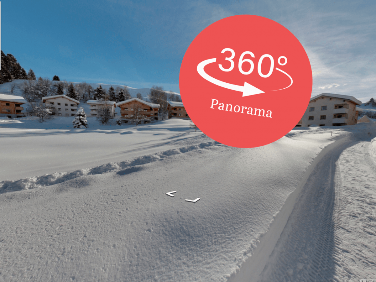 360 Grad Panorama Winter
