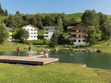 Pradas Resort - Badesee