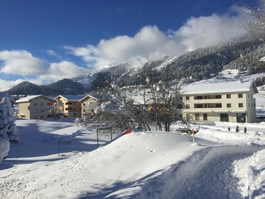 Pradas Resort im Winter
