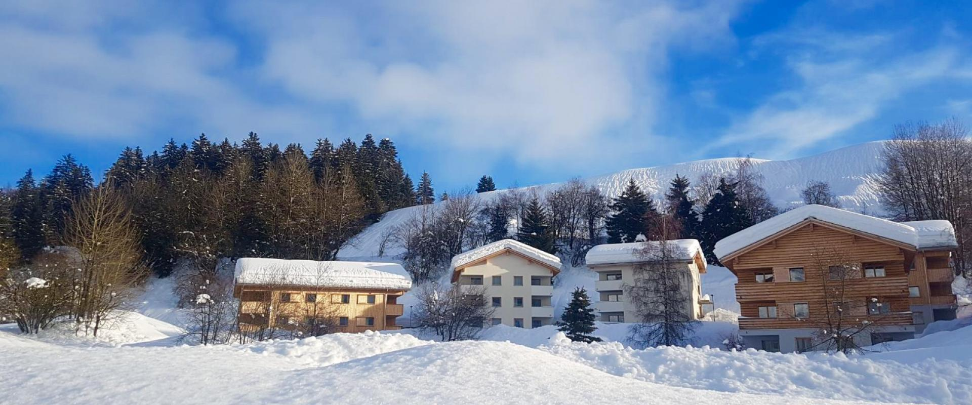 Pradas Resort Brigels Winter